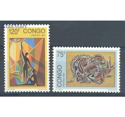 Znaczek Kongo 1991 Mi 1297-1298 Czyste **