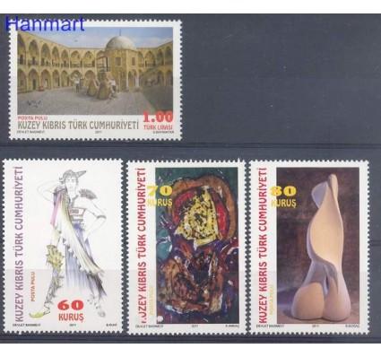 Znaczek Cypr Północny 2011 Mi 743-746 Czyste **