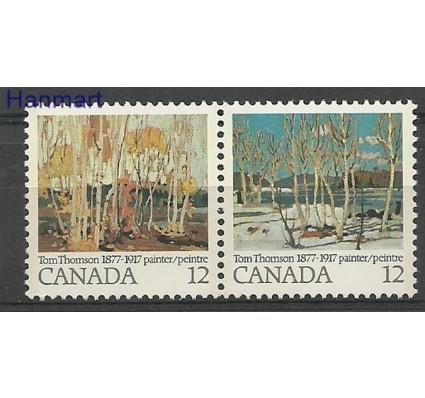 Znaczek Kanada 1977 Mi 658-659 Czyste **