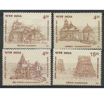 Znaczek Indie 2001 Mi 1885-1888 Czyste **