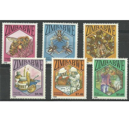 Znaczek Zimbabwe 1998 Mi 615-620 Czyste **