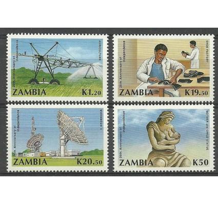 Znaczek Zambia 1990 Mi 524-527 Czyste **