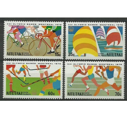 Znaczek Aitutaki 1976 Mi 199-202 Czyste **