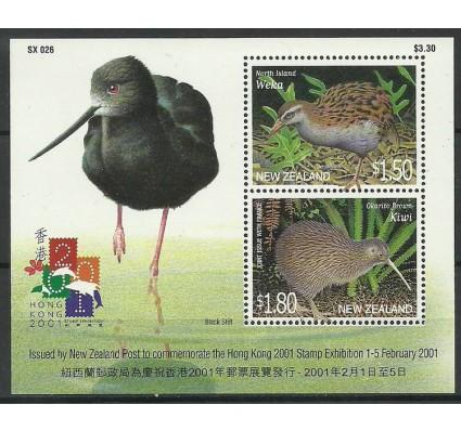 Znaczek Nowa Zelandia 2001 Mi bl118 Czyste **