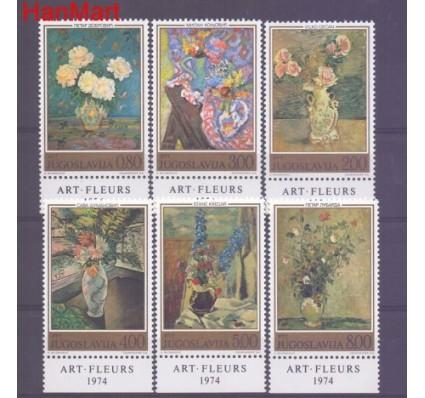 Znaczek Jugosławia 1974 Mi 1577-1582 Czyste **