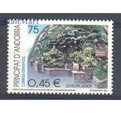 Znaczek Andora Hiszpańska 2001 Mi 280 Czyste **