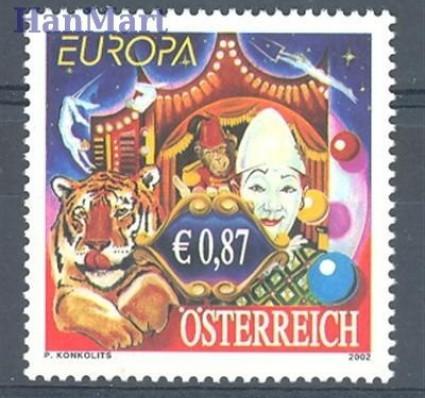 Znaczek Austria 2002 Mi 2376 Czyste **