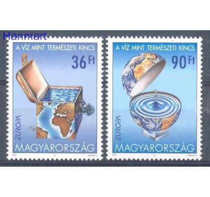 Znaczek Węgry 2001 Mi 4674-4675 Czyste **