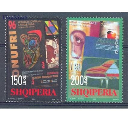Znaczek Albania 2003 Mi 2928-2929 Czyste **