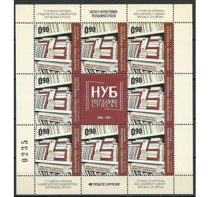 Znaczek Republika Serbska 2011 Mi ark 535 Czyste **
