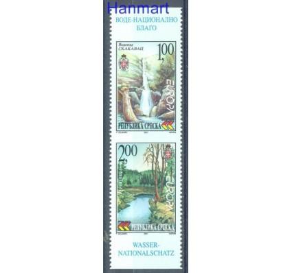 Znaczek Republika Serbska 2001 Mi 200-201C Czyste **
