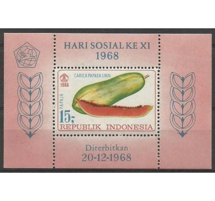 Znaczek Indonezja 1968 Mi bl 13 Czyste **