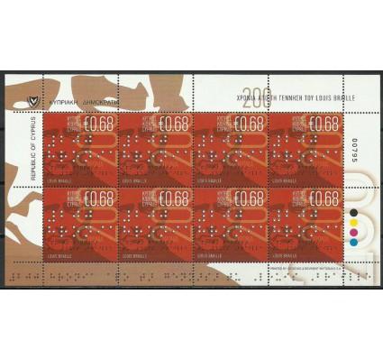 Znaczek Cypr  2009 Mi ark 1147 Czyste **