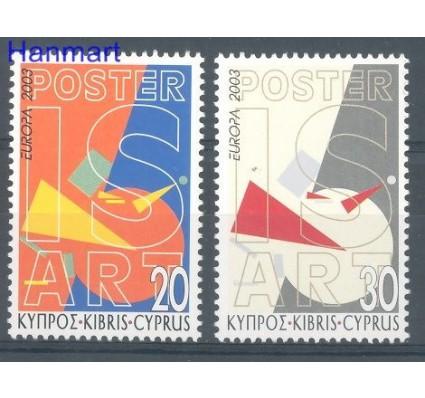 Znaczek Cypr  2003 Mi 1013-1014 Czyste **