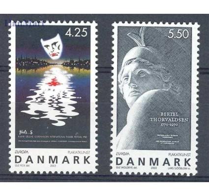 Znaczek Dania 2003 Mi 1341-1342 Czyste **