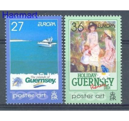 Znaczek Guernsey 2003 Mi 967-968 Czyste **