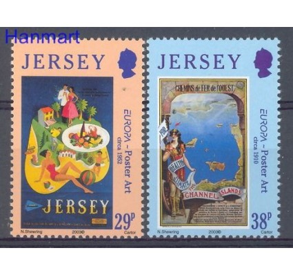 Znaczek Jersey 2003 Mi 1071-1072 Czyste **
