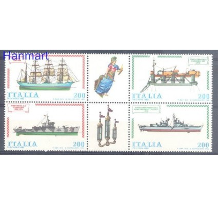 Znaczek Włochy 1980 Mi 1728-1731 Czyste **
