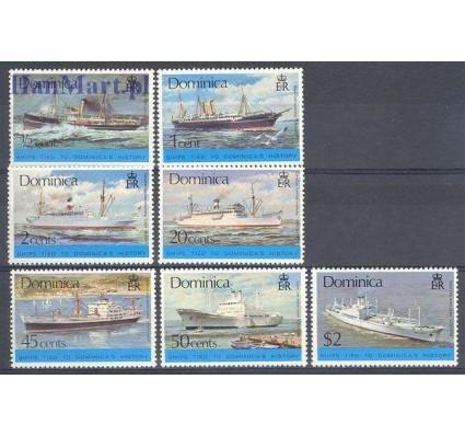 Znaczek Dominika 1975 Mi 437-443 Czyste **