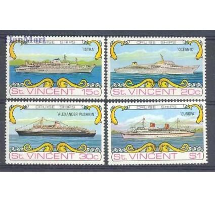 Znaczek St. Vincent 1974 Mi 350-353 Czyste **