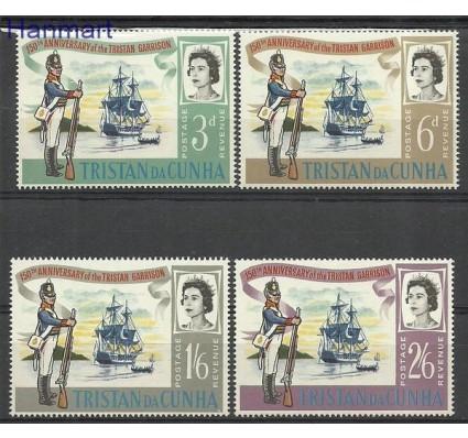 Znaczek Tristan da Cunha 1966 Mi 96-99 Czyste **