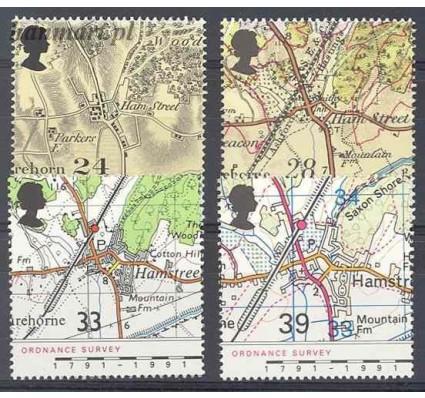 Wielka Brytania 1991 Mi 1363-1366 Czyste **