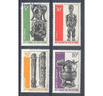 Znaczek Wybrzeże Kości Słoniowej 1966 Mi 294-297 Czyste **
