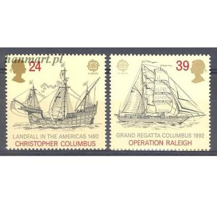 Znaczek Wielka Brytania 1992 Mi 1400-1401 Czyste **