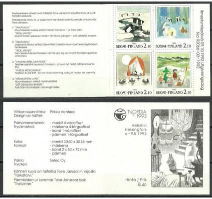 Znaczek Finlandia 1992 Mi mh 31 Czyste **