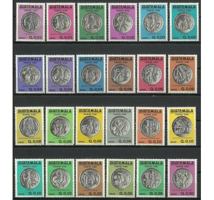 Znaczek Gwatemala 1981 Mi 1166-1189 Czyste **