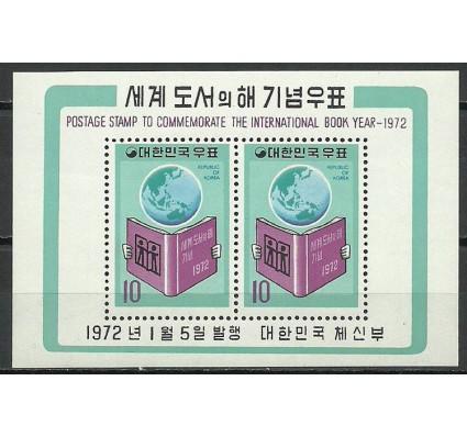Znaczek Korea Południowa 1972 Mi bl 351 Czyste **