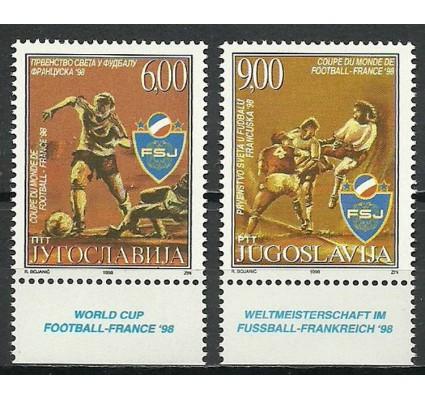 Znaczek Jugosławia 1998 Mi 2857-2858 Czyste **