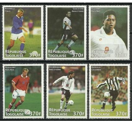 Znaczek Togo 1998 Mi 2777-2782 Czyste **