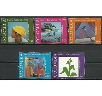 Znaczek Kolumbia 1992 Mi 1875-1879 Czyste **