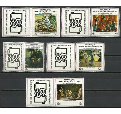 Znaczek Kongo Kinszasa / Zair 1969 Mi zf 354-358 Czyste **