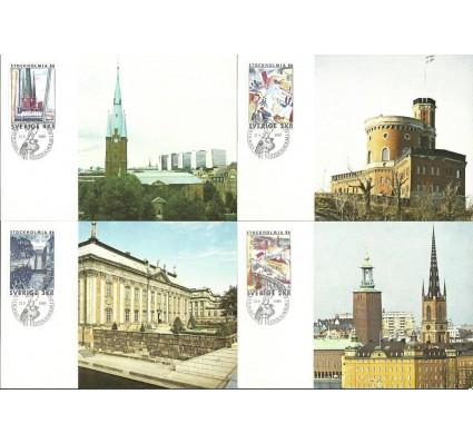 Znaczek Szwecja 1985 Mi 1336-1339 Karta Max