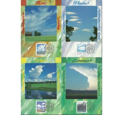 Znaczek Szwecja 1990 Mi 1633-1636 Karta Max