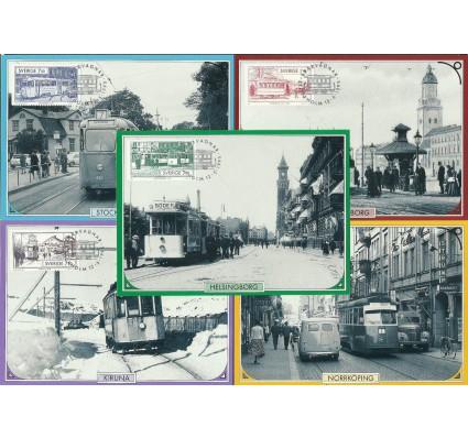 Znaczek Szwecja 1995 Mi 1889-1893 Karta Max