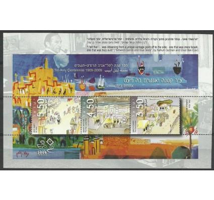 Znaczek Izrael 2008 Mi bl 80 Czyste **