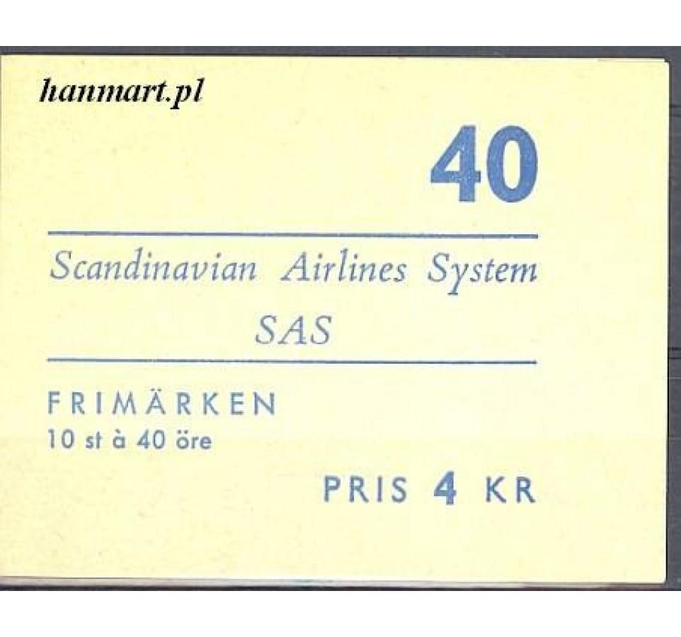Szwecja 1961 Mi mh 467D Czyste **
