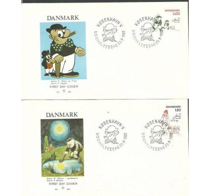 Znaczek Dania 1982 Mi 764-765 FDC