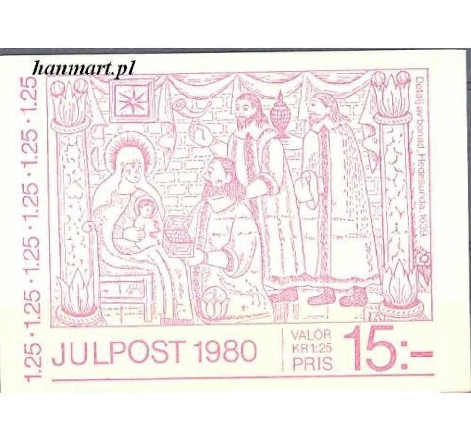 Szwecja 1980 Mi mh 1133 Czyste **