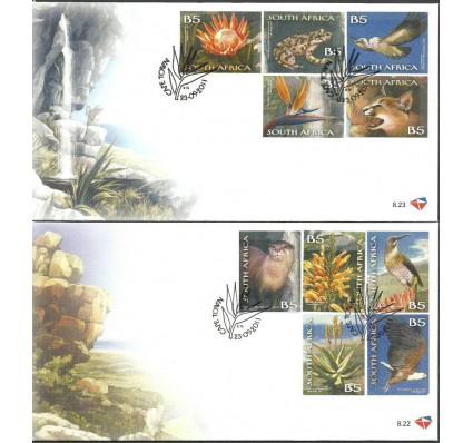 Znaczek Republika Południowej Afryki 2011 Mi 2079-2088 FDC