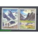 Norwegia 1983 Mi 881-882 Czyste **