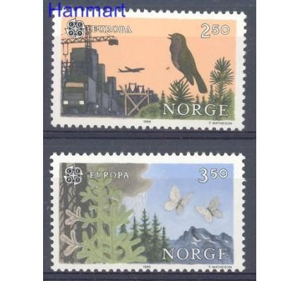 Znaczek Norwegia 1986 Mi 946-947 Czyste **