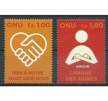 Znaczek Narody Zjednoczone Genewa 2008 Mi 600-601 Czyste **