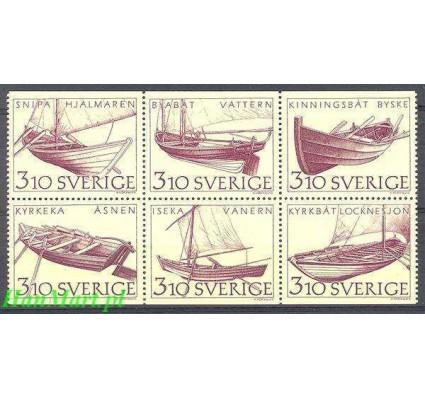 Szwecja 1988 Mi 1467-1472 Czyste **