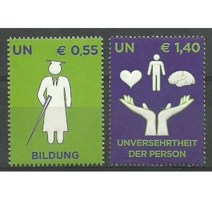 Znaczek Narody Zjednoczone Wiedeń 2008 Mi 543-544 Czyste **