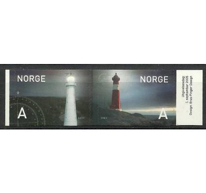 Znaczek Norwegia 2005 Mi 1546-1547Do Czyste **