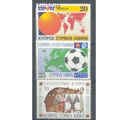 Znaczek Cypr  1992 Mi 787-789 Czyste **
